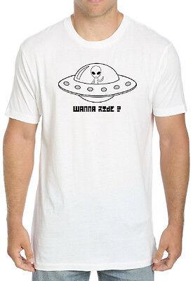 Alien-tee (Alien tee Men's New Graphic T-Shirts Funny Tee)