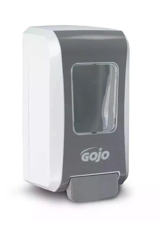 GOJO Foam, Gel, Liquid Soap Dispenser FMX-20 White/Gray 5270-01 2000ml BRAND NEW