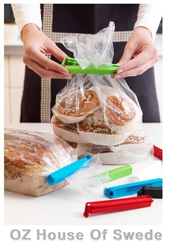 10 ikea large food bag storage sealing clips plastic bags ziplock clip 11cm ebay. Black Bedroom Furniture Sets. Home Design Ideas