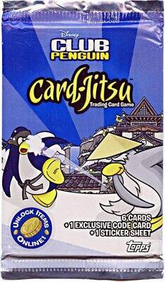 Club Penguin Card-Jitsu Series 2 Booster (Club Penguin Accessory Pack)
