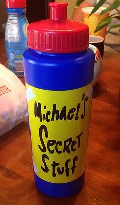 'Michael's Secret Stuff' Water Bottle Christmas *RARE* Michael Jordan Space Jam](Christmas Stuff)