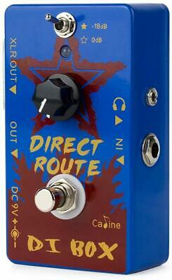 Caline DI Box Guitar Pedal Acoustic Guitar Amp Distortions Effects Pedal CP-64