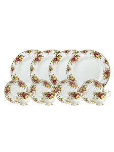 Royal albert old country roses dinner / tea set Marsfield Ryde Area Preview