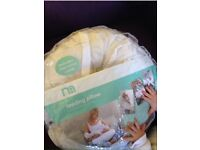 Very clean Mothercare nursing pillow