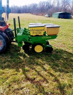 John Deere 2 Row 7000 No Till Corn Planter With Precision Finger Meters No Reser