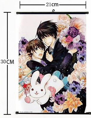 Yaoi Anime Sekai Ichi Hatsukoi Wall Poster Scroll cosplay 2751