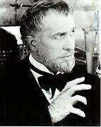 Vincent Price Signed