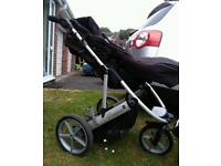 britax buggy with car seat