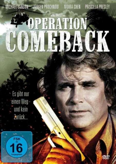OPERATION COMEBACK Jürgen Prochnow MICHAEL LANDON Priscilla Presley DVD Neu