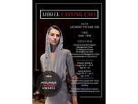 MODEL CASTING CALL - MIDLANDS FASHION AWARDS