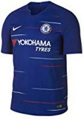 Nike 2018 Chelsea Vapor Match Home Blue Authentic Soccer Jersey Size Large  image