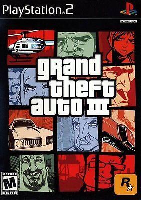 Grand Theft Auto Iii 3  Playstation 2 Ps2  Ntsc  Gta Shooting Driving  New