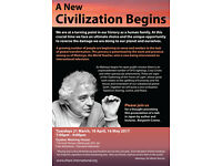 A New Civilization Begins (Film screening, Edinburgh)