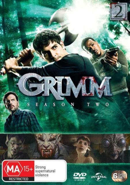 GRIMM : SEASON 2 : NEW DVD