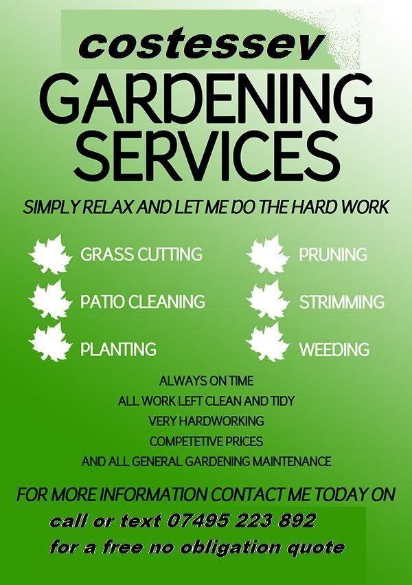 Costessey gardening services in norwich norfolk gumtree for Gardening services