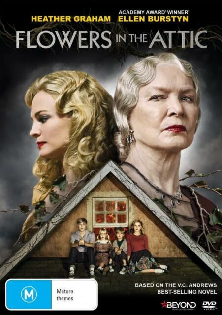 FLOWERS IN THE ATTIC (2014 Heather Graham) - DVD - UK Compatible - New & sealed