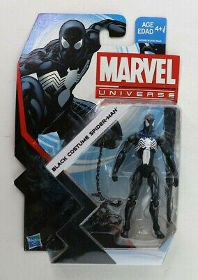 Marvel Universe Series 5 Spider-Man Black Costume Hasbro 3.75 Inch Figure #007