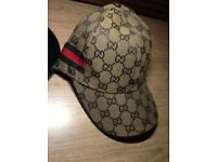 Brand New Brown Gucci Hat
