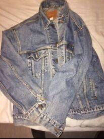 Levi Strauss vintage denim jacket