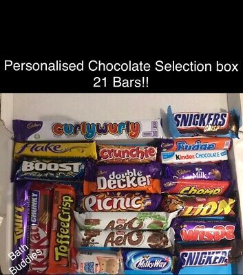 Large Chocolate Box Hamper Big Selection Nestle Cadbury Father's Day