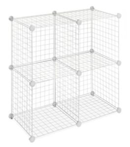 Wire Cube Shelf Storage