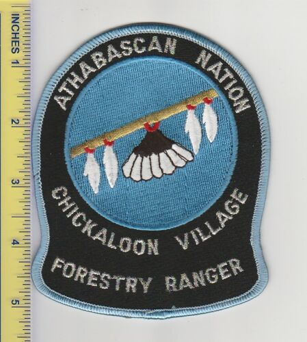 US Police Patch Chickaloon Village Alaska Tribal Fish and Game