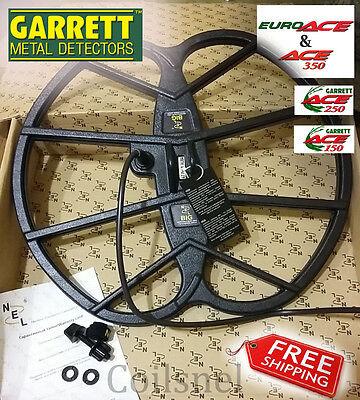 """New NEL BIG 15""""x17"""" DD coil for Garrett ACE 150/250/350/200/300/400/Euro"""