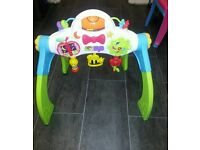 Baby activity gym toy