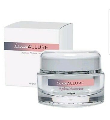 LUX Allure Ageless Moisturizer Wrinkle Formula Boost Collagen Elastic