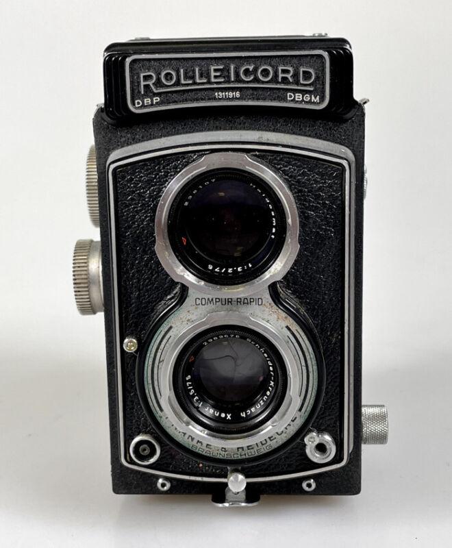 Rolleicord III TLR Camera w/Xenar 75mm f3.5 Lens