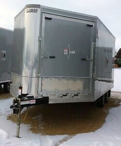 2016 Southland XR 8x20 HB Enclosed Snowmobile Trailer