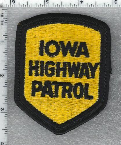 Iowa Highway Patrol Shoulder Patch version 1
