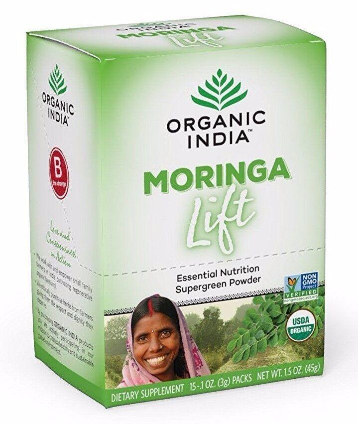 Organic India - Moringa Lift, Single Serve - Complex