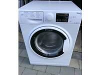 White 9 kg Hotpoint washing machine
