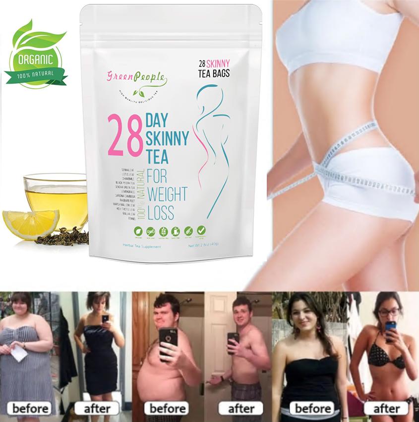 Organic Unisex Detox Diet Slimming Tea Weight Loss Tea for W