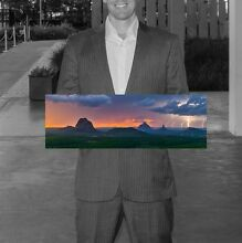 Glasshouse Mountains Canvas Print for Christmas! Maxwelton Central West Area Preview