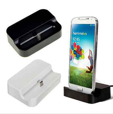 Micro USB Data Sync Desktop Cradle Charger Dock Stand Station For Android Phone Usb Sync Cradle