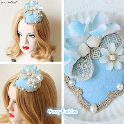 Shells Faux Pearls Mermaid Hat Mermaid Costume Accessories - Mermaid Costume Accessories