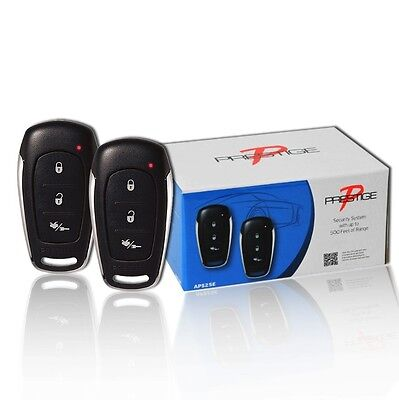 Audiovox Prestige APS25E Standard Car Security Alarm System Bugler Keyless Entry