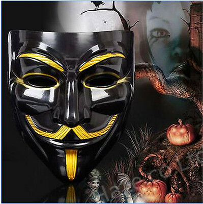 V for Vendetta Mask Anonymous Guy Fawkes Fancy Dress Fancy cosplay