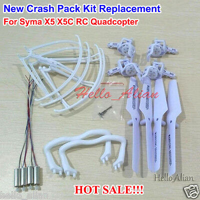 New Drive Pack Kit Spare Parts For Syma X5 X5C RC Drone Quadcopter Replacement