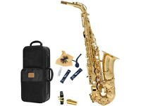 Reconditioned Jupiter JAS-567 Student Alto Saxophone with accessories (K79720)