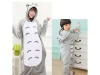 Dress-Up Costume Onesie Pyjamas Kigurumi DR2 NEW Gray