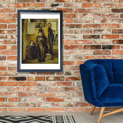 James Campbell - Waiting for Legal Advice Wall Art Poster Print
