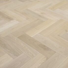 x4000 Packs of Solid Oak Parquet Wood Flooring - Cheapest in the UK