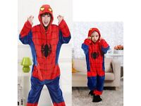 Spiderman Dress-Up Costume Onesie Pyjamas Kigurumi DR2 NEW