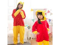 Poo Bear Dress-Up Costume Onesie Pyjamas Kigurumi DR2 NEW