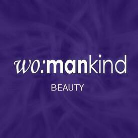 Womankind Beauty is looking for Beauty therapists.