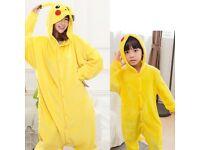 Pikachu Dress-Up Costume Onesie Pyjamas Kigurumi DR2 NEW