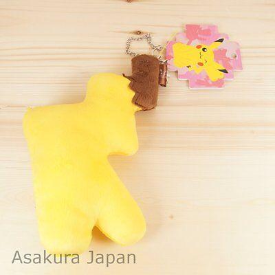 Pikachu Tail (Pokemon Center Original Pikachu Female Ver Big tail Key chain strap Tail)